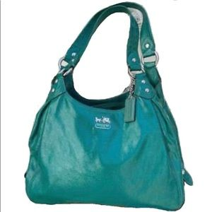 COACH 💯%REAL PATENT LEATHER MADISON JADE